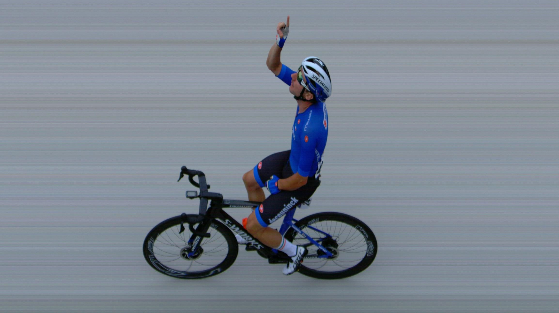 Eliva Viviani - Campione Europeo - Immagine Photofinish